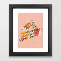 The Reminder Framed Art Print