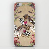 Floral Birds iPhone & iPod Skin