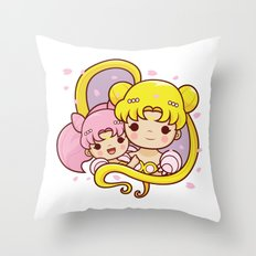 Sailor Moon Princesses Throw Pillow