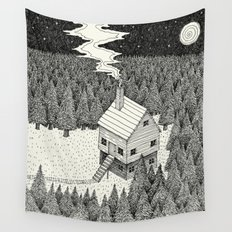 'The Middle Of Nowhere'  Wall Tapestry