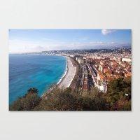 Nice France 6071 Canvas Print
