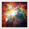 The Cat Galaxy Canvas Print