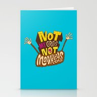 Not My Circus, Not My Mo… Stationery Cards