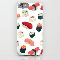Sushi Pattern iPhone 6 Slim Case