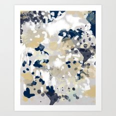 Nigel - Abstract Art Pai… Art Print