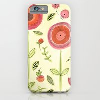 iPhone & iPod Case featuring Rose garden by Claire Caudwell Art and Pattern