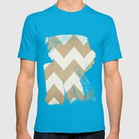 Biscotti & Vanilla - Bei… Mens Fitted Tee Teal SMALL