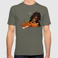 Calypso the Voodoo Priestess  Mens Fitted Tee Lieutenant SMALL