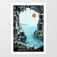Fingal's Cave Overture - Hebrides - Mendelssohn Art Print