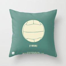 1950 Throw Pillow
