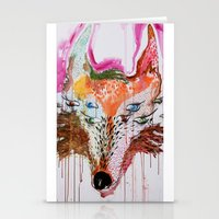 Summer Wolf Stationery Cards