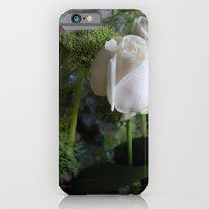 White Rose Slim Case iPhone 6s