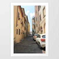 Italian Street 3 Art Print