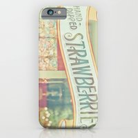iPhone & iPod Case featuring Hand-Dipped Strawberries by JoyHey