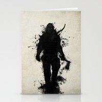 Apocalypse Hunter Stationery Cards