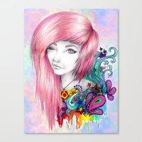Leda Canvas Print