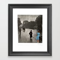 A Sore Thumb Framed Art Print