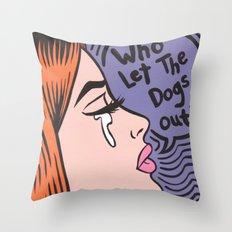 baha! Throw Pillow
