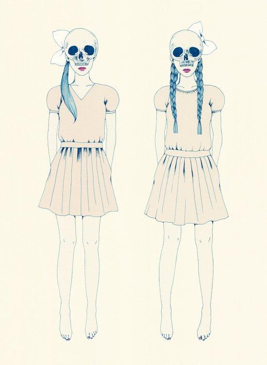 girl-16 Art Print