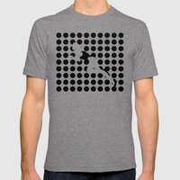 INVISIBLE WOMAN Mens Fitted Tee Tri-Grey SMALL