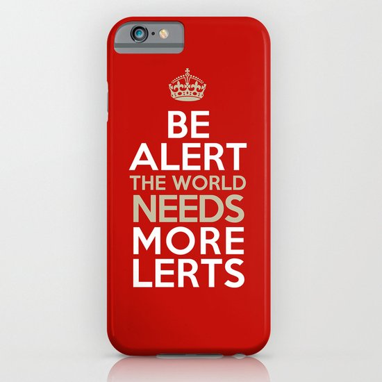 BE ALERT! iPhone & iPod Case