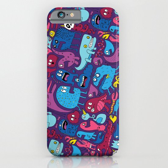 Mo' Monsters Mo' Problems iPhone & iPod Case