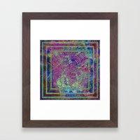 Tribal Abstract  Framed Art Print