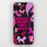 The Magical Creatures iPhone & iPod Skin