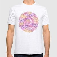 Intricate Sun Mens Fitted Tee Ash Grey SMALL