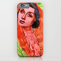 iPhone & iPod Case featuring SAD CHRYSALIS by busymockingbird