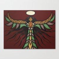 Thunderbird Woman Canvas Print