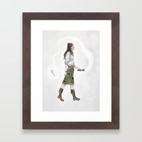 Find The Key Framed Art Print
