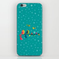 Fly High, My Babies - Merry Christmas iPhone & iPod Skin