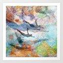 Mergings Art Print
