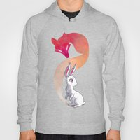 Rabbit and a Fox Hoody