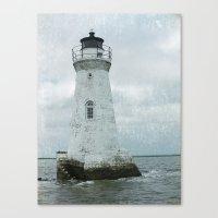 Little  Lighthouse Canvas Print