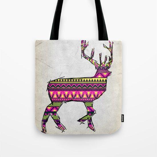 Deer Navajos pattern Tote Bag
