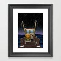 The Work Of Saphron Burr… Framed Art Print