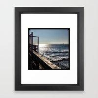 Ocean. Framed Art Print