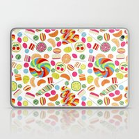 Rainbow candies Laptop & iPad Skin