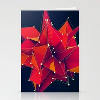 Architecture Polygons Stationery Cards