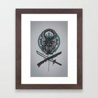 Dead Men Walking Framed Art Print