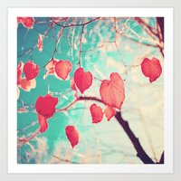 Our Hearts Are Autumn Le… Art Print