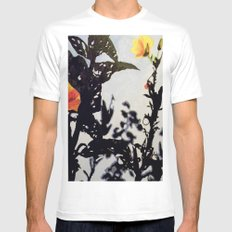 Leading Leaves SMALL White Mens Fitted Tee