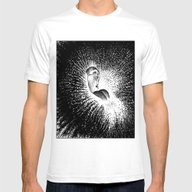 Apollonia Saintclair 607… Mens Fitted Tee White SMALL