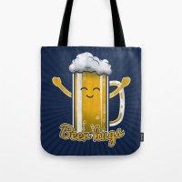 Beer Hugs Tote Bag
