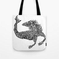 Hippocampus Tote Bag