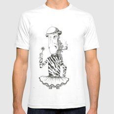 Like a little girl Mens Fitted Tee White SMALL