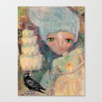 Great Expectations' Miss… Canvas Print