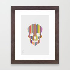 Skull Study no.1 Framed Art Print